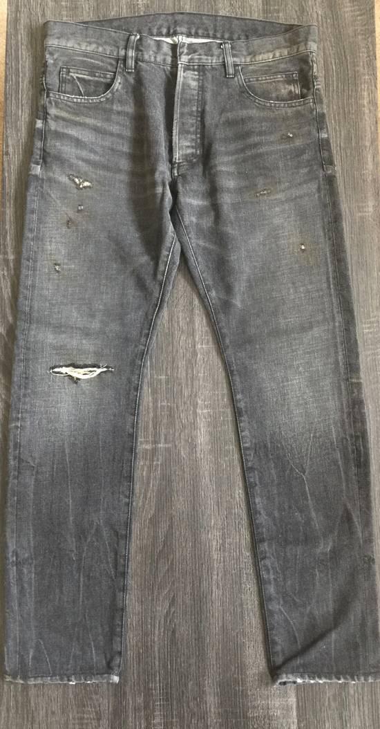 Balmain Balmain Black Distressed Jeans Size US 32 / EU 48