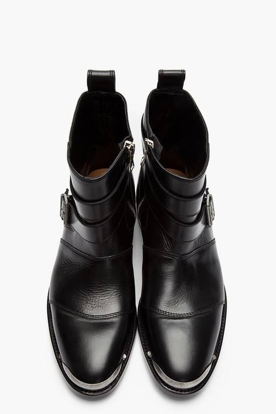 Balmain Balmain Black Steel Tip Boots Size 43 euro / 10 US Metal toe cap Size US 10 / EU 43 - 1