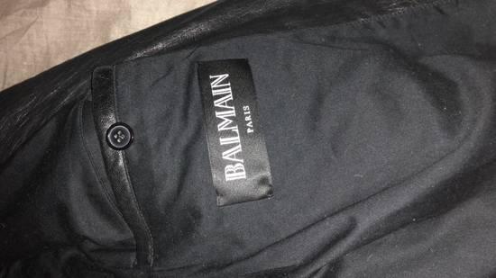 Balmain Lamb Skin Leather Biker Jacket Size US M / EU 48-50 / 2 - 2