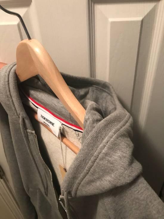Thom Browne Classic Grey Zip Up Hoodie Size US L / EU 52-54 / 3 - 8