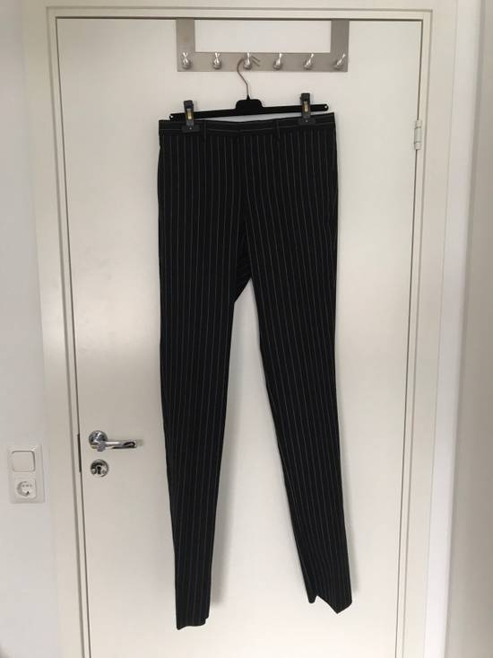 Givenchy Pinstripe Wool Trousers Size US 32 / EU 48