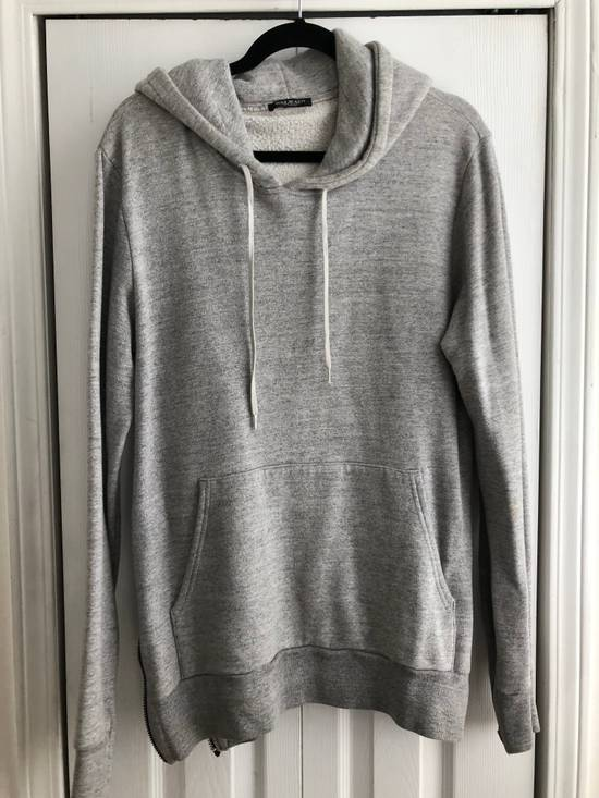 Balmain Zipped hoodie in grey Size US M / EU 48-50 / 2