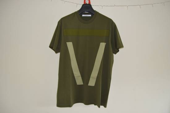 Givenchy Green Banded T-shirt Size US XXS / EU 40