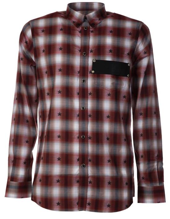 Givenchy Brand New Givenchy Checked Star Shirt Size 38L