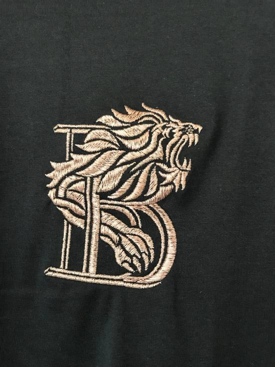 Balmain Lion Embroidered Long- Sleeves Tee Size US XL / EU 56 / 4 - 2
