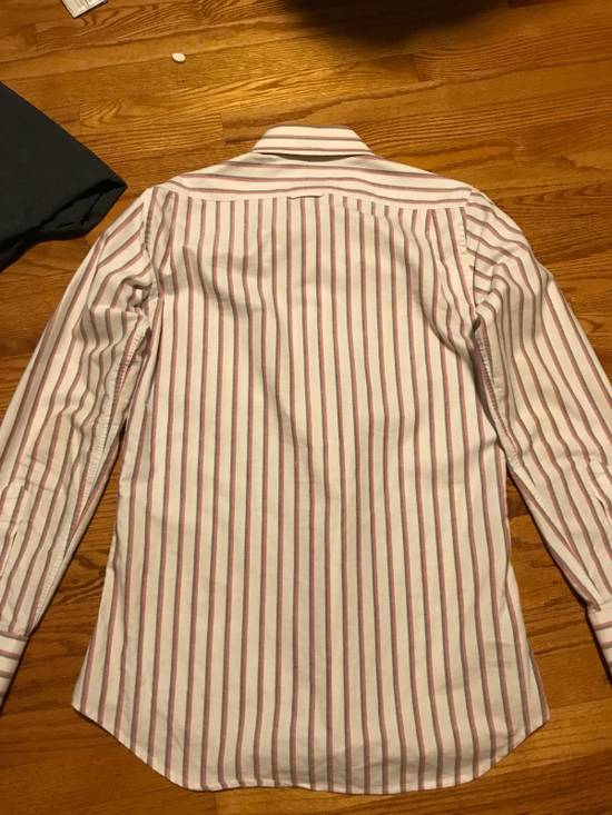 Thom Browne Striped Dress Shirt Size US S / EU 44-46 / 1 - 7
