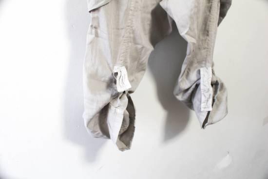 Julius SS12 Cotton Silk Satin Gas Mask Cargo Strapped Pants Size US 30 / EU 46 - 4