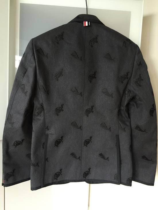 Thom Browne Whale/ Turtle Demin Blazers Size US S / EU 44-46 / 1 - 6