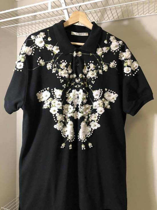 Givenchy Polo With Pearl Limited Edition Size US M / EU 48-50 / 2