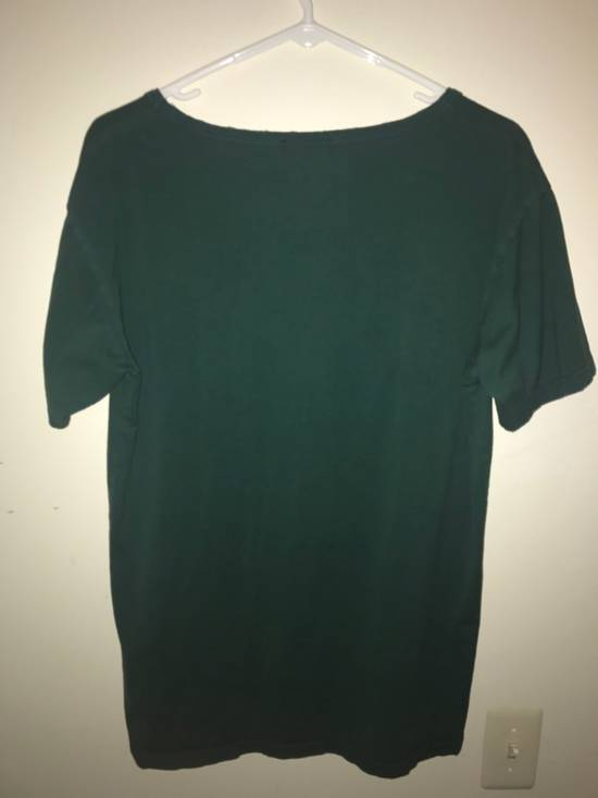 Balmain Forest Green Distress Tee Size US M / EU 48-50 / 2 - 1