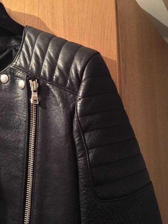 Balmain Leather Biker Jacket Lambskin Original SS12 Brand New Size US M / EU 48-50 / 2 - 1