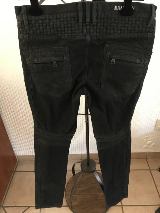 Balmain Balmain Black Biker Jeans LAST PRICE DROP !!! Size US 31 - 1