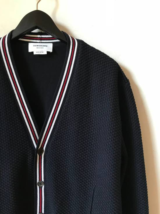Thom Browne cotton sweater on buttons Size US XL / EU 56 / 4 - 2