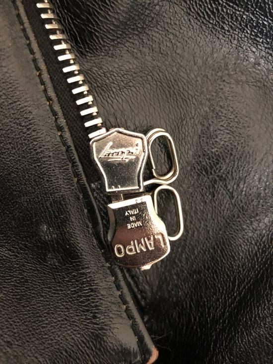 Balmain Black Horse Leather Double Rider Jacket Size US L / EU 52-54 / 3 - 9