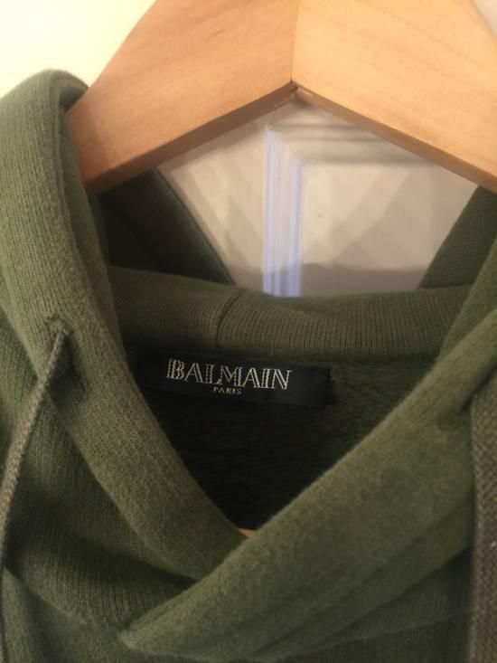 Balmain Balmain Patch Hoodie Size US XL / EU 56 / 4 - 1
