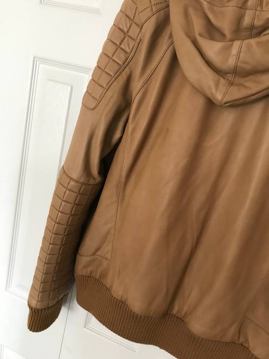 Balmain New $4155 Lambskin Leather Jacket Size US L / EU 52-54 / 3 - 8