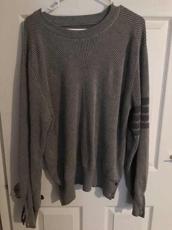 Thom Browne Thom Browne gray knitwear Size US L / EU 52-54 / 3