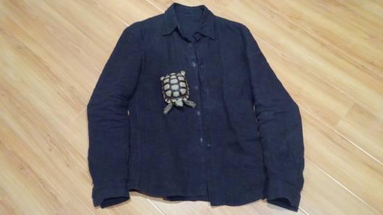 Carpe Diem L'maltieri Brown Linen Jacket Size US M / EU 48-50 / 2 - 1