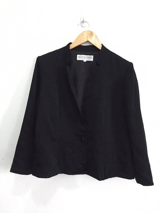 Givenchy Black Pleated Light Button Jacket Size US S / EU 44-46 / 1