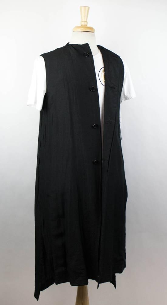 Julius 7 Men's Black Silk Blend Long Vest Size 3/M Size US M / EU 48-50 / 2 - 2
