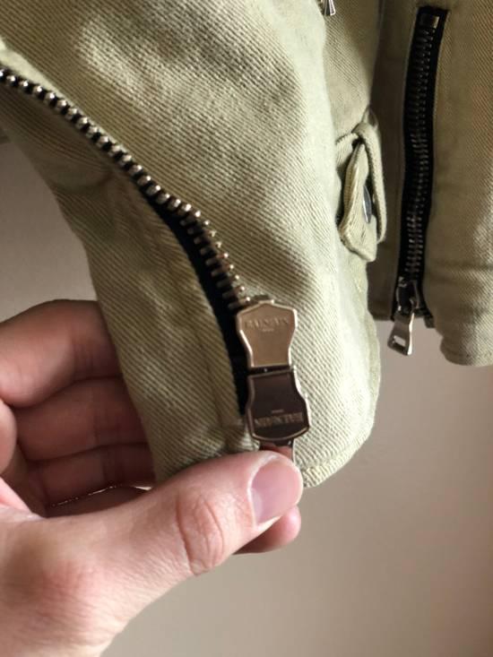 Balmain Balmain Denim Moto Jacket Size US M / EU 48-50 / 2 - 2