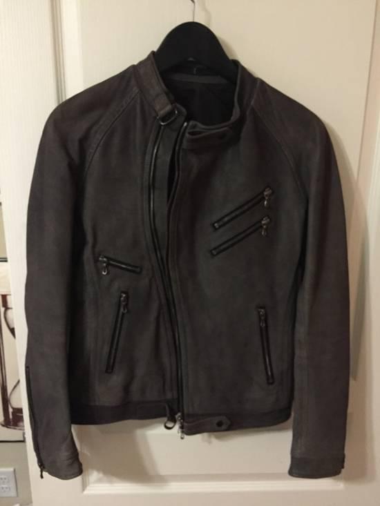 Julius Grey Leather, Size 1 Size US S / EU 44-46 / 1 - 2