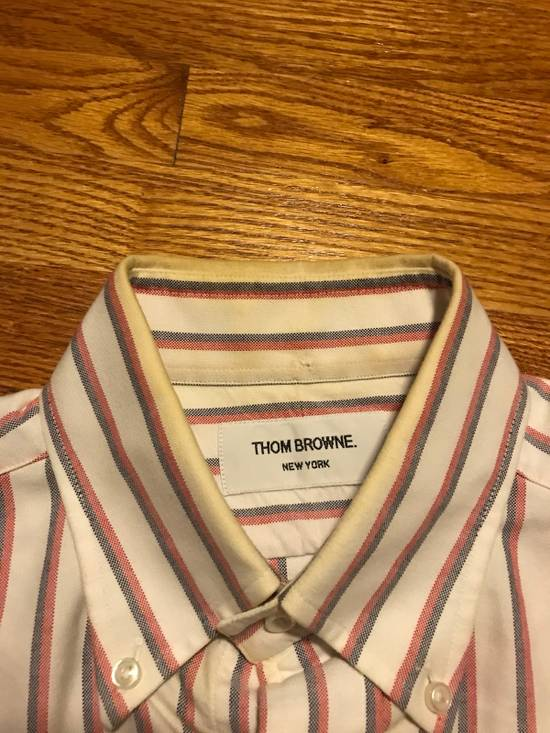 Thom Browne Striped Dress Shirt Size US S / EU 44-46 / 1 - 5