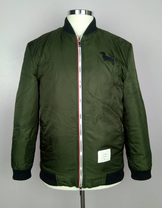 Thom Browne Bomber Jacket With Leather Dog Patch 3 / 42 / L MINT Size US L / EU 52-54 / 3