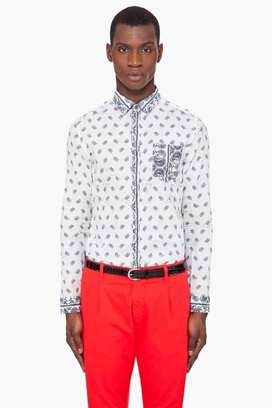 Balmain Pierre Balmain Paisley Shirt Size US S / EU 44-46 / 1