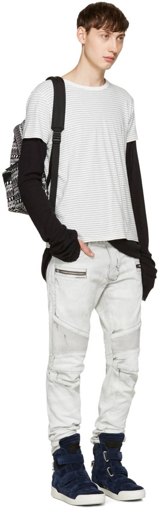 Balmain NWT, THE BEST! Biker Jeans (WAS $1650) - RUNS SMALLER Size US 36 / EU 52