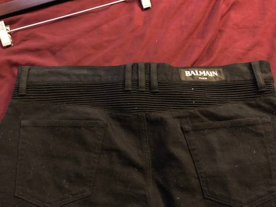Balmain Black Ribbed Jeans Size US 36 / EU 52 - 2