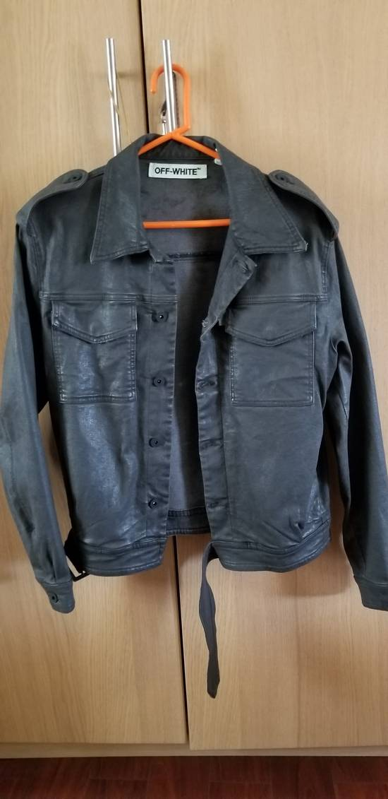 Off-White Belted Denim Jacket Size US M / EU 48-50 / 2 - 1