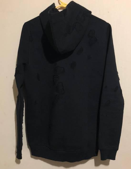 Givenchy Cuban Destroyed Logo Cotton Hoodie Size US XS / EU 42 / 0 - 6