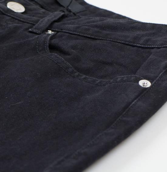 Givenchy Black Cotton Denim Jeans Pants Size US 32 / EU 48 - 5