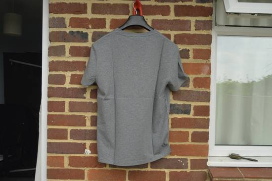 Balmain Grey Distressed V-Neck T-shirt Size US M / EU 48-50 / 2 - 6