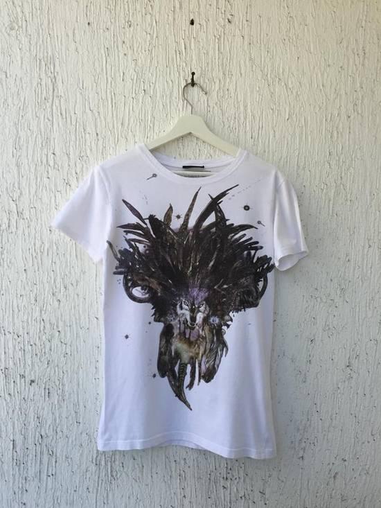 Balmain white wolf tee Size US S / EU 44-46 / 1