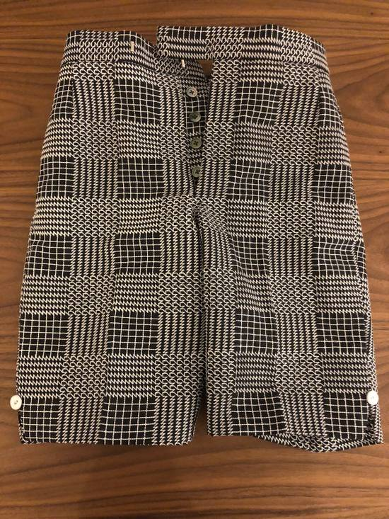 Thom Browne Classic Glen Plaid Embroidered Backstrap Short Size US 28 / EU 44