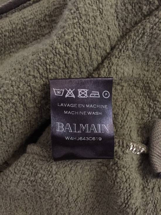 Balmain Khaki/Olive Hoodie Size US M / EU 48-50 / 2 - 4