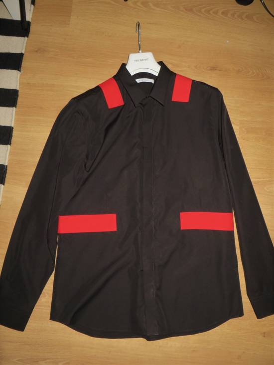 Givenchy Red bands shirt Size US XL / EU 56 / 4 - 8