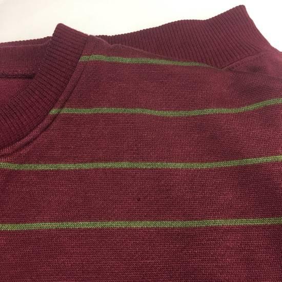 Balmain Rare!! PIERRE BALMAIN Paris Striped Sweatshirt Button Crewneck Balmain France Brand Designer Embroidered Made In Japan Size US M / EU 48-50 / 2 - 4