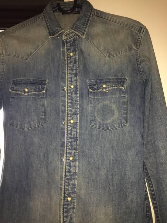 Balmain Denim balmain Shirt Size US XS / EU 42 / 0 - 2
