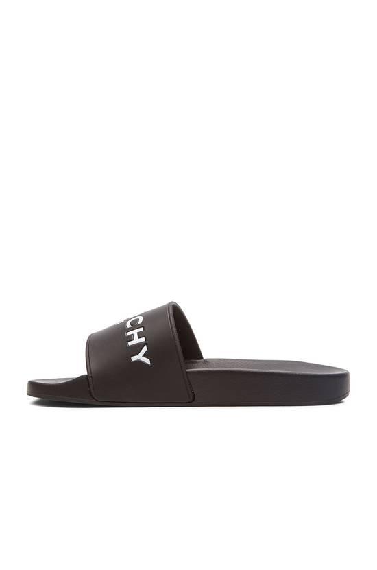 Givenchy Givenchy Logo Slide Sandals Black Size US 7 / EU 40 - 4