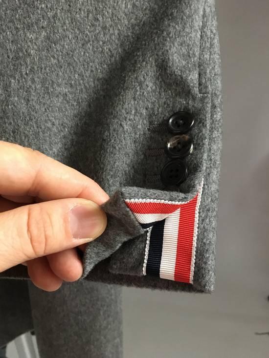 Thom Browne 100% Cashmere Patch Pocket Coat Size US XL / EU 56 / 4 - 4