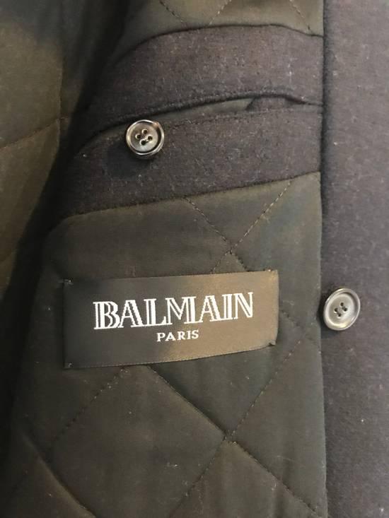 Balmain Navy Short Cut Pea Coat Size US S / EU 44-46 / 1 - 5
