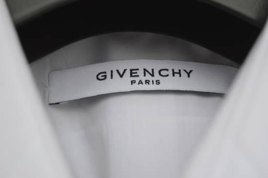 Givenchy White Metal Stars Collar Shirt Size US L / EU 52-54 / 3 - 6