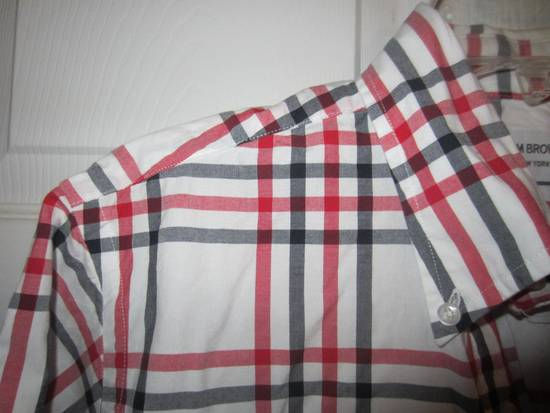 Thom Browne Classic Large Check Plaid Oxford Shirt Size US L / EU 52-54 / 3 - 2