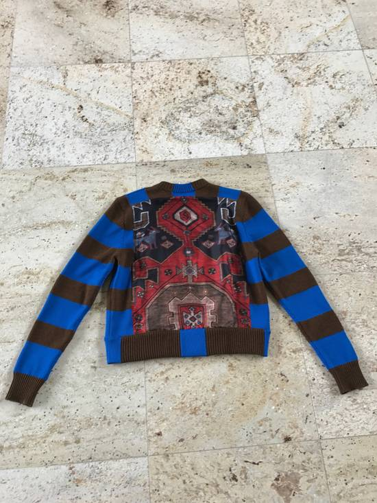 Givenchy Runway Printed Knit Sweater Size US XS / EU 42 / 0 - 1