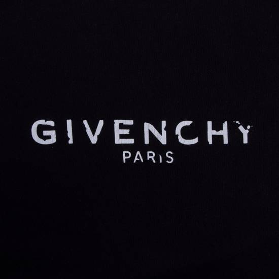 Givenchy Black Cotton Sweater With Blurred Givenchy Paris Logo Size US XL / EU 56 / 4 - 5