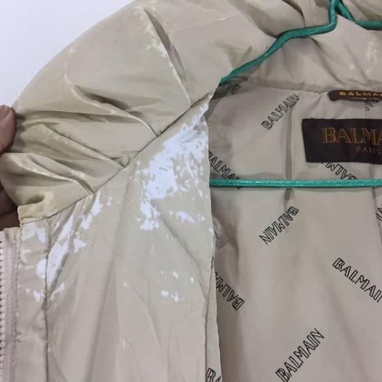 Balmain LUXURY!! BALMAIN Paris Monogram Down Jacket Puffer Jacket / Fall & Winter Hypebeast Jacket / Balmain Raincoat Size US L / EU 52-54 / 3 - 14