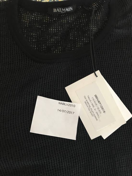 Balmain Balmain Basketweave-Knit Cotton and Linen-Blend Top BRAND NEW WITH TAGS Size US S / EU 44-46 / 1 - 5